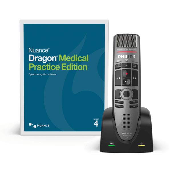 dragon medical practice edition with speech mike